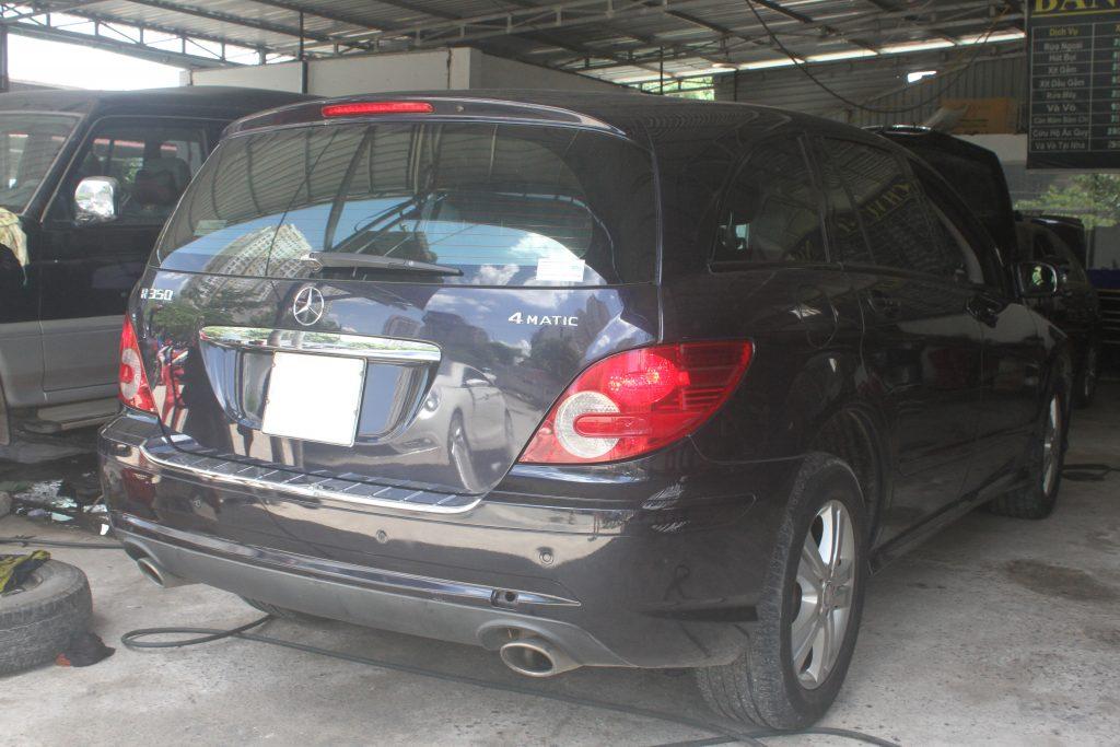 garage chuyên sửa Mercedes